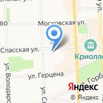 Центр творчества на Спасской на карте Кирова