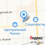 #ЛОСКУТКОВАЯ на карте Кирова