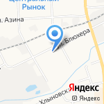 ЛИСС на карте Кирова