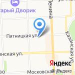 ТЕХСТРОЙ на карте Кирова