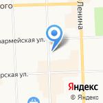 Вятский государственный университет на карте Кирова