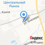 Ковротекс на карте Кирова