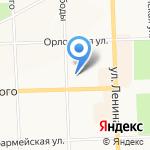 Тиффани на карте Кирова