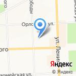 Ботаник на карте Кирова