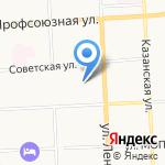 Аззарти на карте Кирова