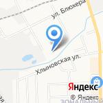 Стальной портье на карте Кирова