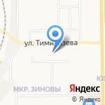 Детский сад №162 на карте Кирова