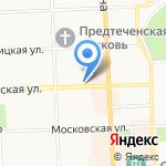 АКБ Связь-банк на карте Кирова