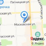 DОМ МОD на карте Кирова