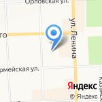 Колледж на карте Кирова