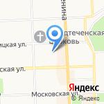 ИНФО-43 на карте Кирова