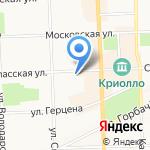 Вятский дом на карте Кирова