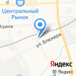 Киоск по продаже овощей и фруктов на карте Кирова
