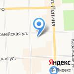 Танита на карте Кирова
