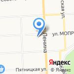 Азбука на карте Кирова