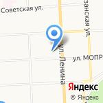 Основная общеобразовательная школа №22 на карте Кирова