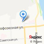 Айсберг на карте Кирова
