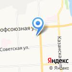 Прикосновение на карте Кирова