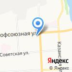 ДОСААФ России на карте Кирова