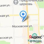 Холостёжь на карте Кирова