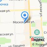 ОАЗИС-travel на карте Кирова