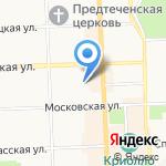 Терра Мед на карте Кирова