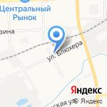 Арт-Флора Элит на карте Кирова