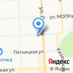 Горизонт на карте Кирова