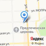 Самара на карте Кирова