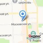 Вятка-гарант на карте Кирова
