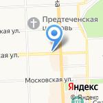 Старый город на карте Кирова