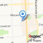 Ленина 73а на карте Кирова