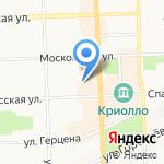 Офицеры Запаса на карте Кирова