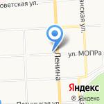 Магазин головных уборов на карте Кирова