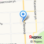 Магазин очков и футляров на карте Кирова