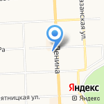 Автомир на карте Кирова