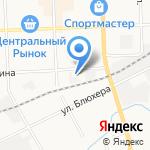 Радиотехник на карте Кирова
