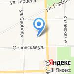 Нотариус Карандина С.П. на карте Кирова