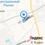 Гараж на карте Кирова