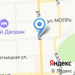 Киш-Миш на карте Кирова