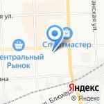 Бел-Стар на карте Кирова