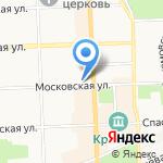 Портал на карте Кирова