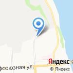 Донна Роза на карте Кирова