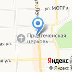 Отопитель на карте Кирова