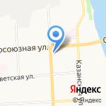 Каменный цветок на карте Кирова
