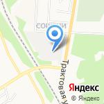 Светофор на карте Кирова