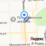 Адвокатский кабинет Хохловой Ю.В. на карте Кирова