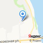 Горячая ложка на карте Кирова