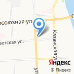 Сундучок на карте Кирова