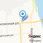 ОЛДИ на карте Кирова